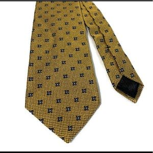 Brooks Brothers Blue Gold Silk Men's Tie